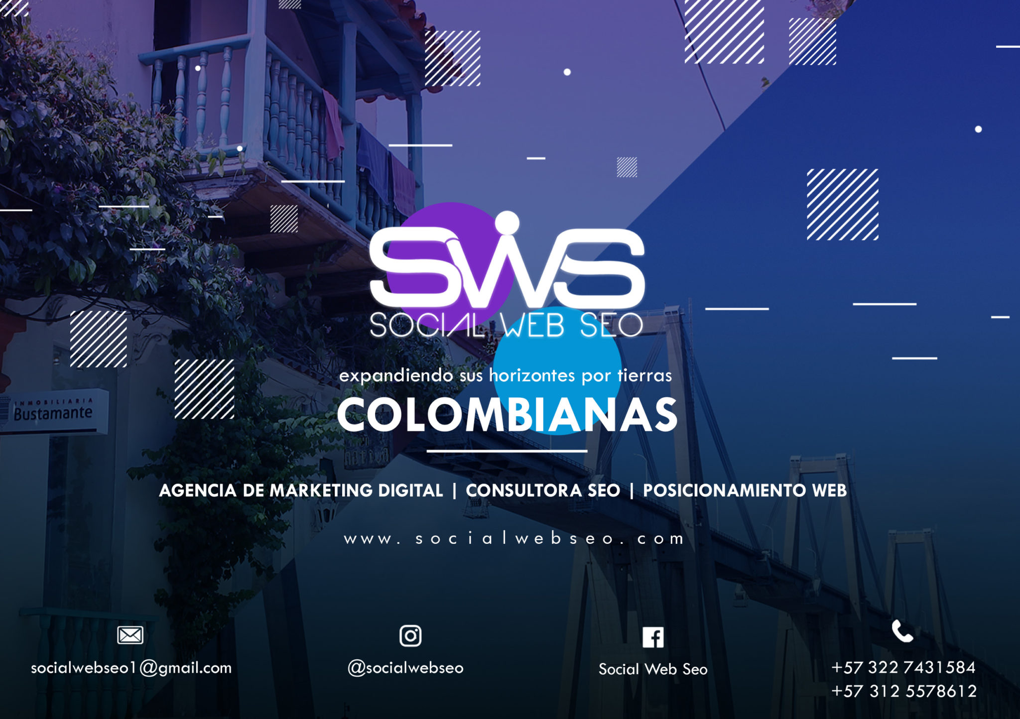 Agencia Marketing Digital - Consultora SEO - Posicionamiento Web - Colombia y Venezuela - Social Web SEO