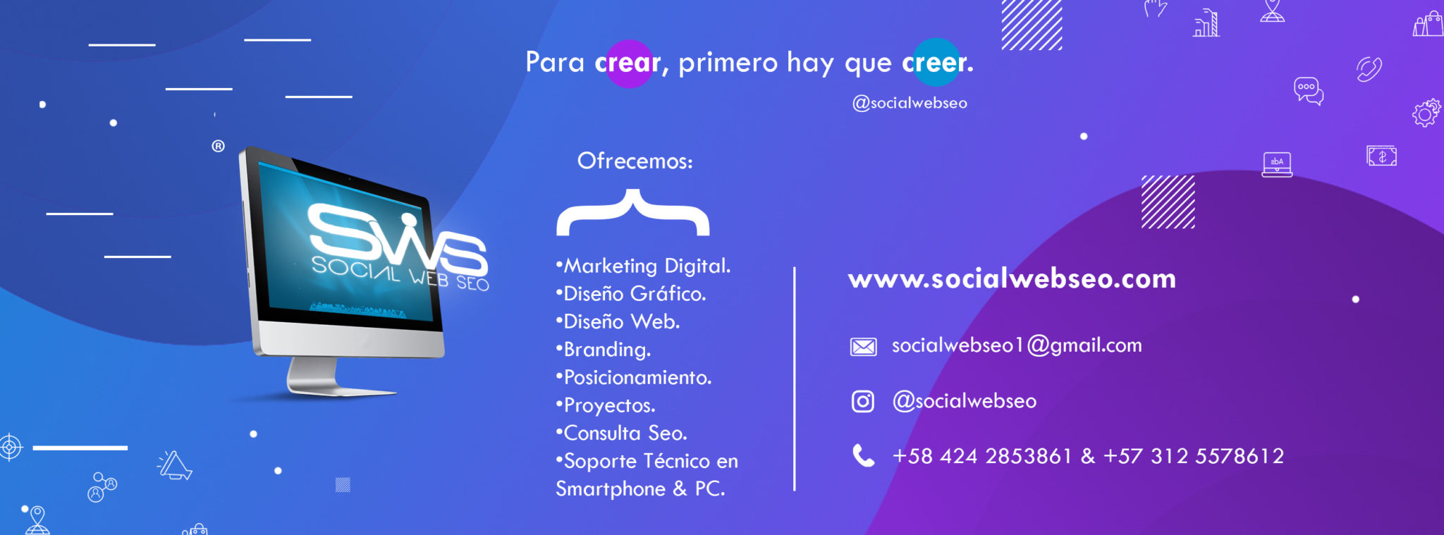 Social Web SEO - SEO Venezuela y Colombia - Marketing Digital